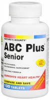 Nature's Bounty ABC Plus Multi-Vitamin Tablets Senior 100 Tablets [074312417832]