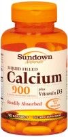 Sundown Calcium 900 + D Softgels 90 Soft Gels [030768903077]