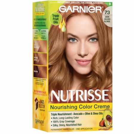 Garnier Nutrisse Haircolor - 73 Honeydip (Dark Golden Blonde) 1 Each [603084242597]