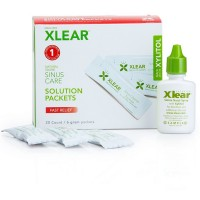XLEAR Natural Saline Sinus Care Solution Packets 20 ea [700596000049]