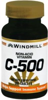 Windmill Vitamin C-500 Tablets Non-Acid 60 Tablets [035046001810]