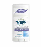 Tom's of Maine Natural Deodorant Stick, Unscented 2.25 oz [077326619254]
