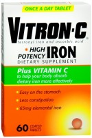 Vitron-C Coated Tablets 60 Tablets [363736123017]