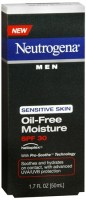 Neutrogena Men Sensitive Skin Oil-Free Moisture SPF 30 1.70 oz [070501020241]