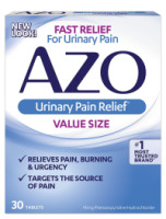 AZO Urinary Pain Relief Tablets 30 ea [787651301525]