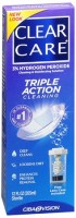 Clear Care Cleaning and Disinfecting Solution 12 oz [047113609126]