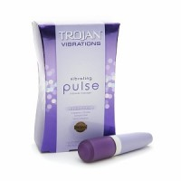 TROJAN Vibrations Vibrating Pulse Intimate Massager 1 ea [022600906612]