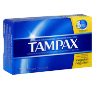 Tampax Tampons Regular 10 Each [073010214095]