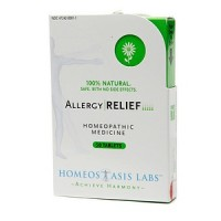Homeostasis Labs Allergy Relief Tablets 50 Tablets [899843002117]