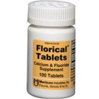 Florical Calcium & Fluoride Supplement Tablets 100 ea [303940100022]