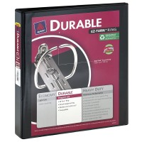 "Avery EZ-Turn Ring 1"" Durable Binder, Colors May Vary 1 ea [077711170186]"
