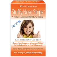 Stuffy Nose Solutions Stuffy Nose Strips for Kids 30 ea [868480000220]