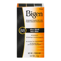 Bigen Permanent Powder Hair Color 88 Blue Black 1 ea [033859905882]