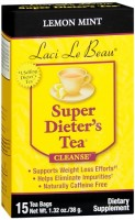 Laci Le Beau Super Dieter's Tea Lemon Mint 15 Each [080987010278]