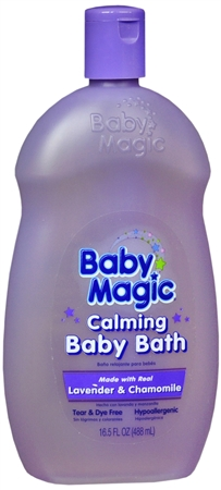 Baby Magic Calming Baby Bath Lavender and Chamomile 16.50 oz [075371050114]