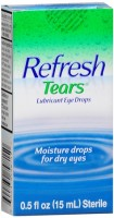 REFRESH TEARS Lubricant Eye Drops 0.50 oz [300230798150]