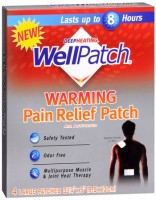 WellPatch Warming Pain Relief Patch 4 Each [310742098433]