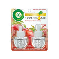 Air Wick Scented Oil Twin Refill Apple Cinnamon Medley (2X.67) oz [062338804200]