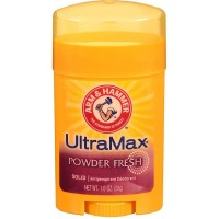 ARM & HAMMER Ultra Max Antiperspirant Deodorant, Powder Fresh 1 oz [033200191230]