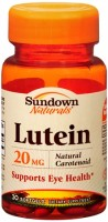 Sundown Naturals Lutein 20 mg Softgels 30 Soft Gels [030768049003]