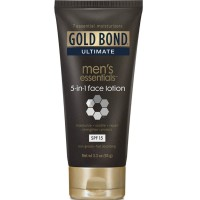 Gold Bond Ultimate Men's Essentials 5-in-1 Face Lotion 3.3 oz [041167055618]