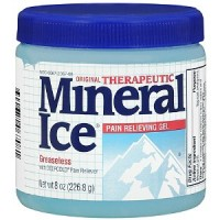 Mineral Ice Pain Relieving Gel  8 oz [300672067081]