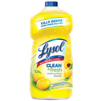 Lysol Clean & Fresh Multi-Surface Cleaner, Lemon & Sunflower, 40oz [019200786263]