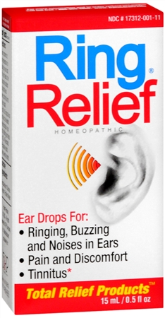 Ring Relief Homeopathic Ear Drops 0.50 oz [858961001013]
