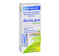 Boiron Arnicare Arnica Cream for Pain Relief & Blue Tube Value Pack 2.5 oz [306969047781]