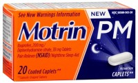 Motrin PM Coated Caplets 20 Caplets [300450563200]