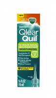 Vicks Qlearquil, 12 Hour Nasal Decongestant Moisturizing Spray, 0.5 oz [323900019867]