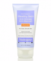 Neutrogena Healthy Skin Anti-Wrinkle Anti-Blemish Cleanser 5.10 oz [070501024409]