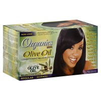 Africa's Best Organics Olive Oil Conditioning Regular Relaxer System, Extra Virgin Olive Oil 1 ea [034285540005]