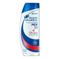 Head & Shoulders Old Spice 2-in-1 Anti-Dandruff Shampoo + Conditioner Pure Sport, 23.7 oz [037000571797]