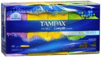 Tampax Compak Pearl Tampons Multipax 40 Each [073010006942]