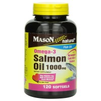 Mason Natural Omega-3 Salmon Oil 1000 mg Softgels 120 ea [311845148827]
