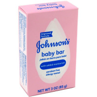 JOHNSON'S Baby Bath Bar Soap 3 oz [381370032625]