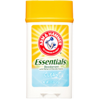 Arm & Hammer Essentials Solid Deodorant, Clean 2.5 oz [033200005469]