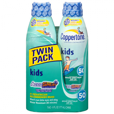 Coppertone Kids Continuous Spray Sunscreen SPF 50 12 oz [041100703026]