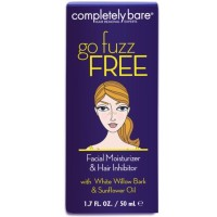 Completely Bare go fuzz FREE Facial Moisturizer & Hair Inhibitor 1.7 oz [854357003319]
