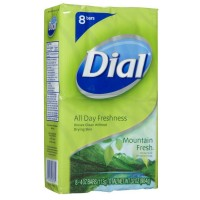 Dial Bar Soap, Mountain Fresh, 4 oz bars 8 ea [017000077611]