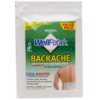 WellPatch Backache Ultra Strength Pain Relief Patch 4 Each [310742098785]