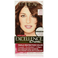 L'Oreal Paris Excellence Creme Triple Protection  Haircolor, Medium Reddish Brown [5RB] 1 ea [071249210581]