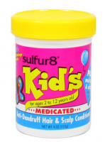 Sulfur8 Kid's Medicated Anti-Dandruff Hair & Scalp Conditioner, 4 oz [075610452105]