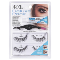 Ardell Deluxe Pack Lash #120 Black 2 ea [074764652232]
