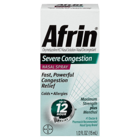 Afrin Severe Congestion Nasal Spray  15 mL [041100811172]