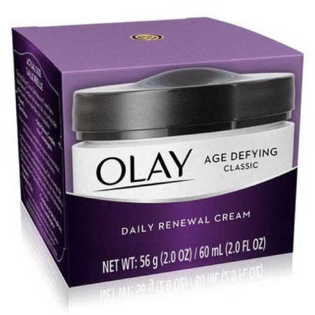 OLAY Age Defying Classic Daily Renewal Cream 2 oz [075609000225]