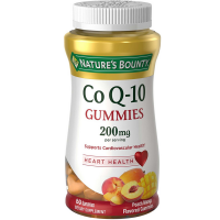 Nature's Bounty CoQ-10 Gummies 200 mg, Peach Mango Flavored 60 ea [074312593888]