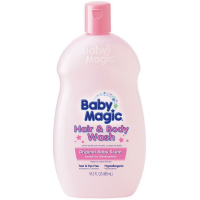 Baby Magic Hair & Body Wash, Original Baby Scent 16.50 oz [075371050145]