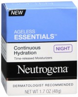 Neutrogena Ageless Essentials Continuous Hydration Night Cream 1.70 oz [070501055038]